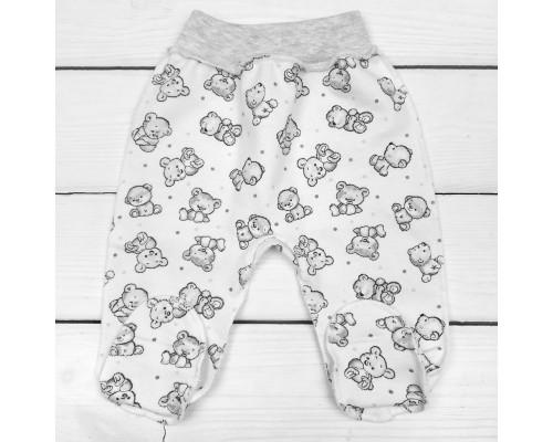 Футерные ясельные штанишки ползунки Мишутки