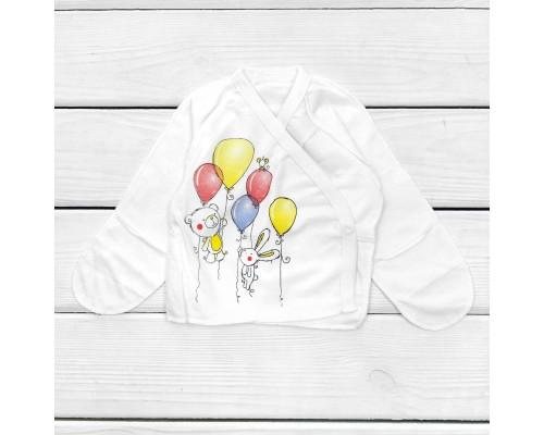 Распашонка в роддом с рисунком Baloons