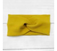 Детская повязка из ткани рубчик Ohra