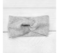 Детская повязка из ткани рубчик Lines