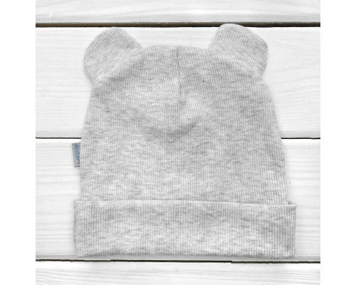 Демісезонний дитячий шапочка з вушками