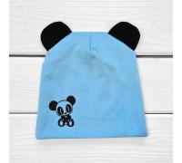 Двойная детская шапочка с принтом Панда