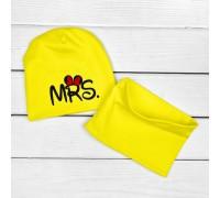 Двошарова дитяча шапочка з хомутом MRS