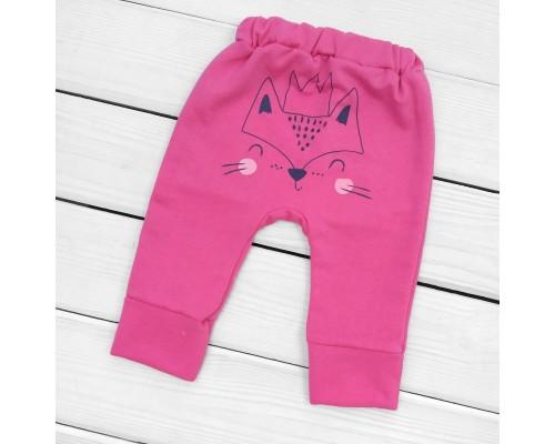Дитячі штани з принтом ззаду Foxie