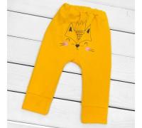Штаны с принтом сзади Foxie
