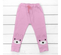 Дитячі штани з аплікацією і кишенями Вушка