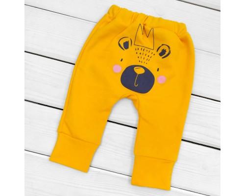 Дитячі штани на осінь з начосом Panda