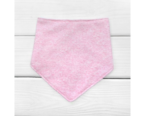 Слинявчик дитячий Меланж рожевий